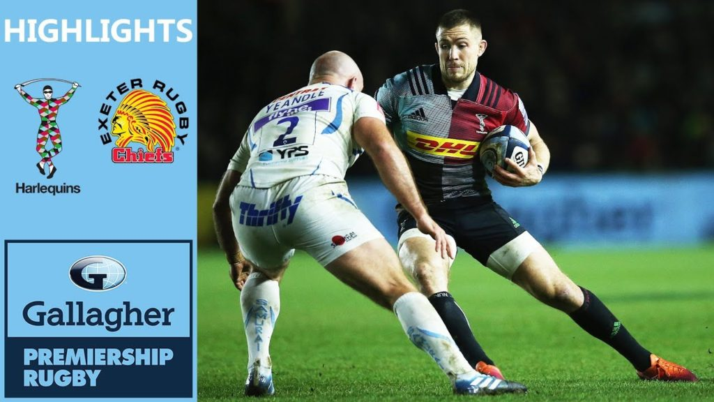 Two Points Decide Tight Contest | Harlequins v Exeter  | Gallagher Premiership Highlights