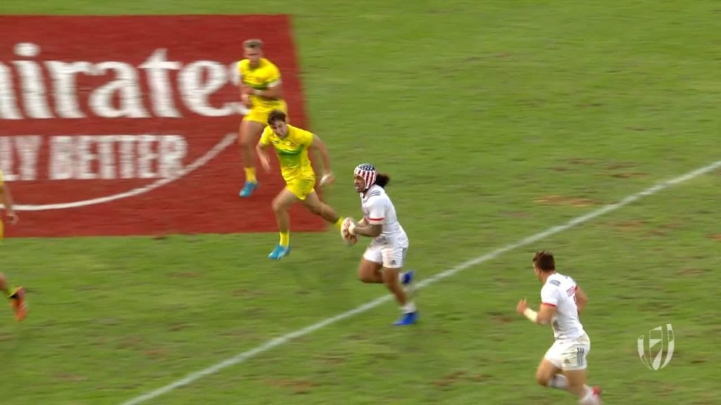 RE:LIVE: USA score incredible last minute try