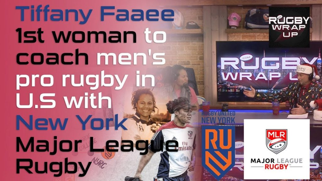 Rugby Barrier-Breaking, History-Making Tiffany Faaee of RUNY, Major League Rugby