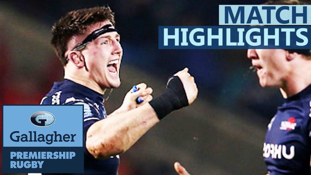 Sale 24-18 Saracens | Sale Spoil Vunipola Return | Gallagher Premiership – Highlights