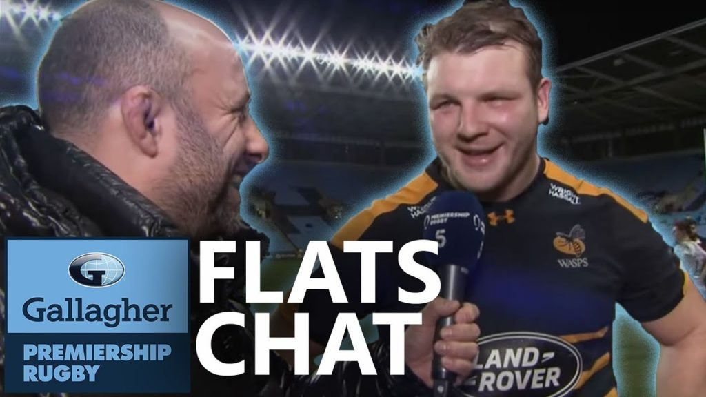 Flats Chat with Joe Launchbury | The Blindside | Gallagher Premiership