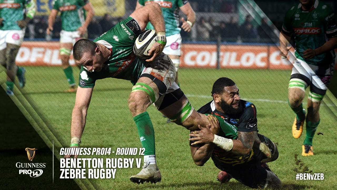 Guinness PRO14 Round 12 Highlights: Benetton Rugby v Zebre Rugby