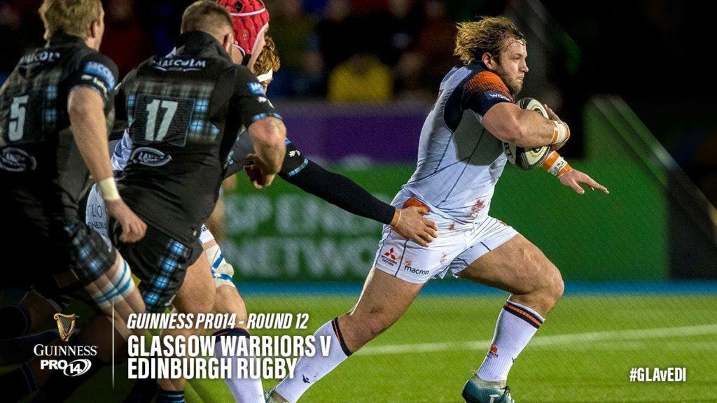 Guinness PRO14 Round 12 Highlights: Glasgow Warriors v Edinburgh Rugby