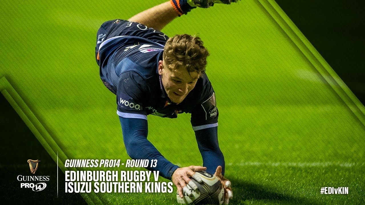 Guinness PRO14 Round 13 Highlights: Edinburgh Rugby v Southern Kings