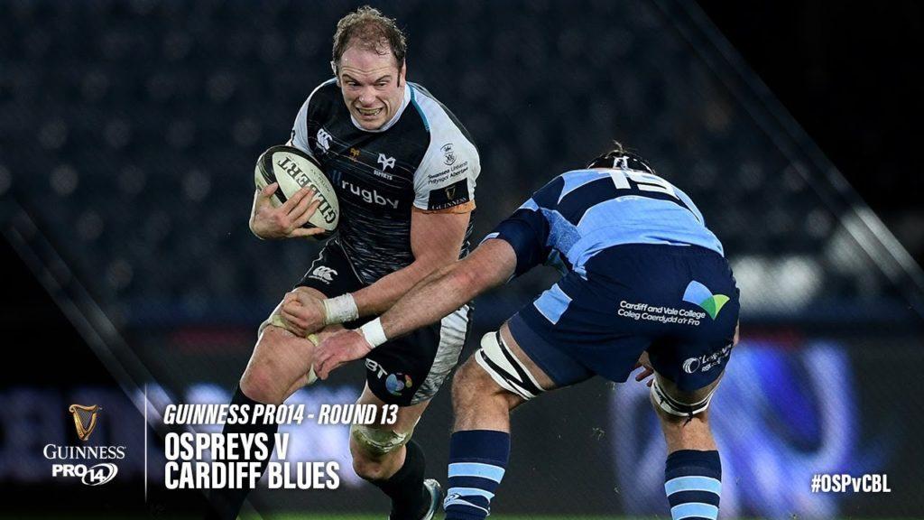 Guinness PRO14 Round 13 Highlights: Ospreys v Cardiff Blues