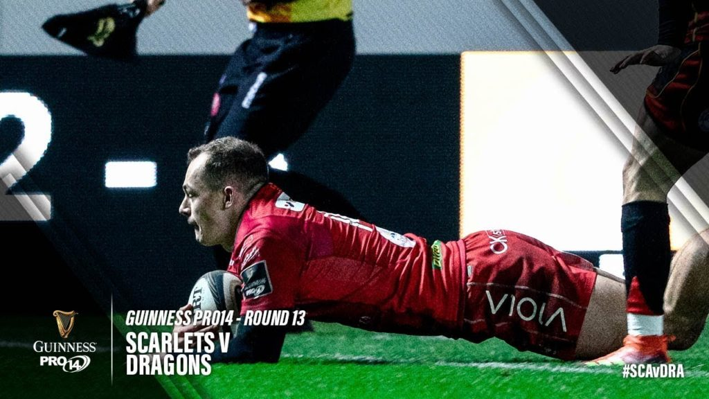 Guinness PRO14 Round 13 Highlights: Scarlets v Dragons