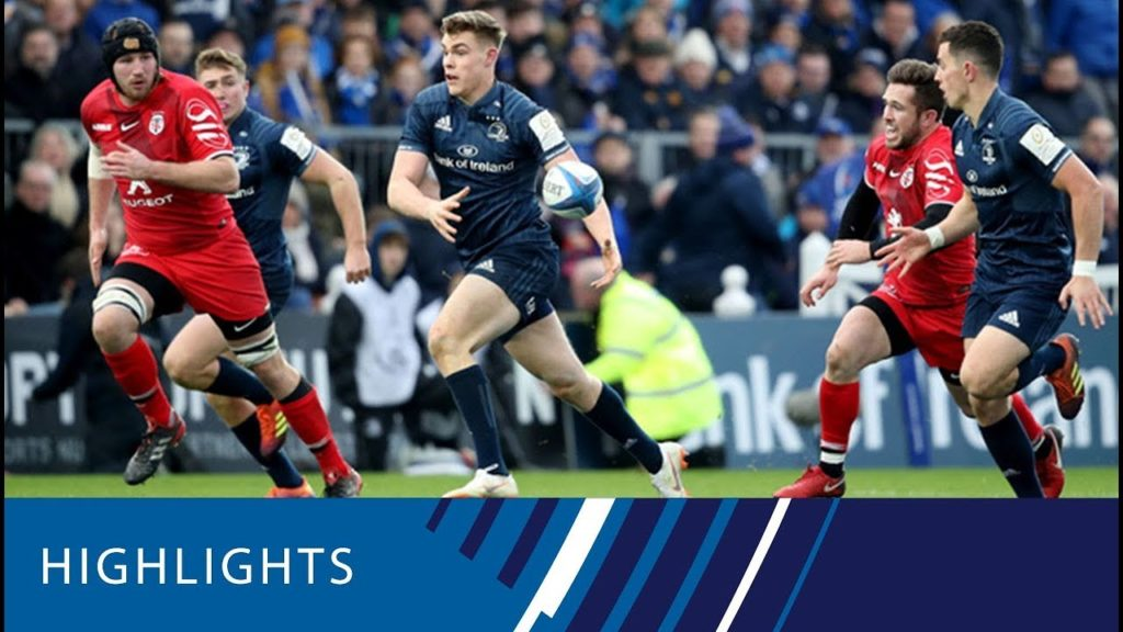 Leinster Rugby v Toulouse (P1) – Highlights 12.01.19