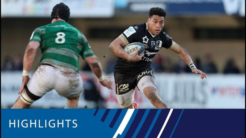 Montpellier v Newcastle Falcons (P5) – Highlights 12.01.19