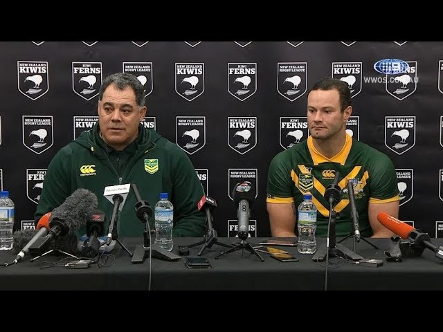 Test Match Football: Australia Press Conference