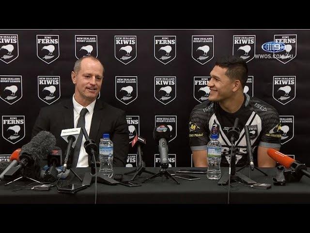 Test Match Football: New Zealand Press Conference