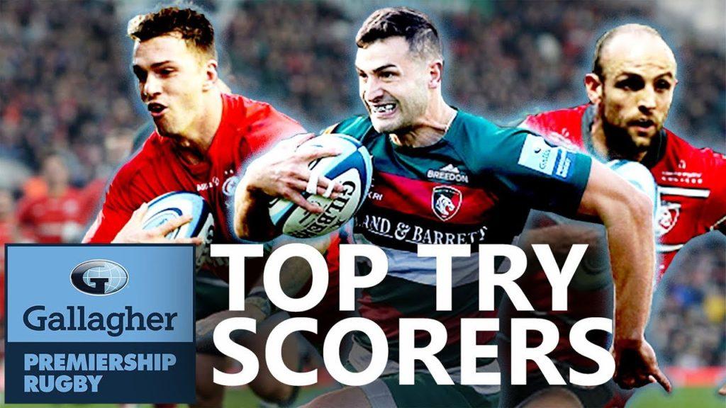 Top Try Scorers So Far | Gallagher Premiership