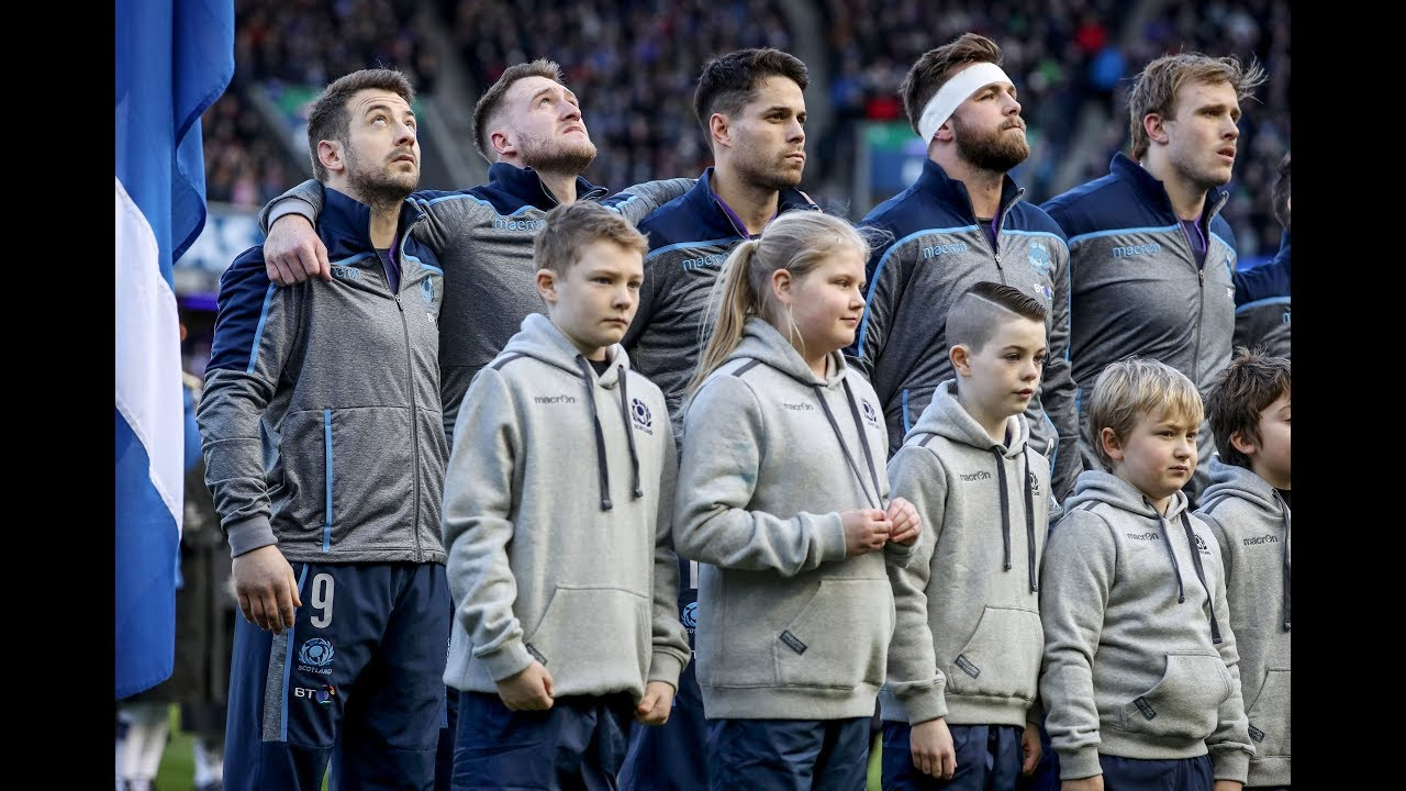Scotland belt out Flower of Scotland before Ireland Test! | Guinness Six Nations