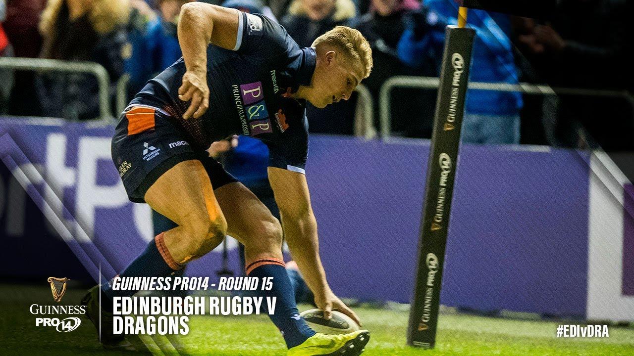 Guinness PRO14 Round 15 Highlights: Edinburgh Rugby v Dragons