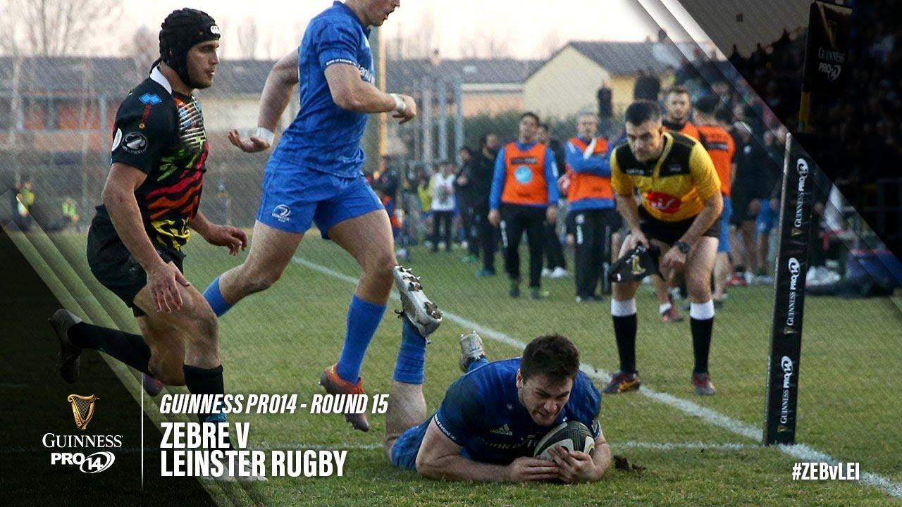 Guinness PRO14 Round 15 Highlights: Zebre v Leinster Rugby