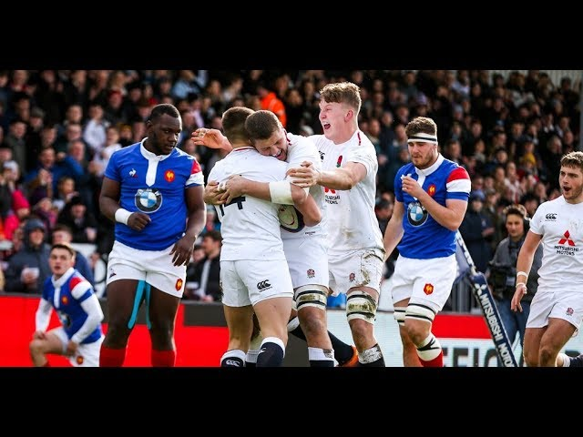 Highlights: England U20 31 France U20 19