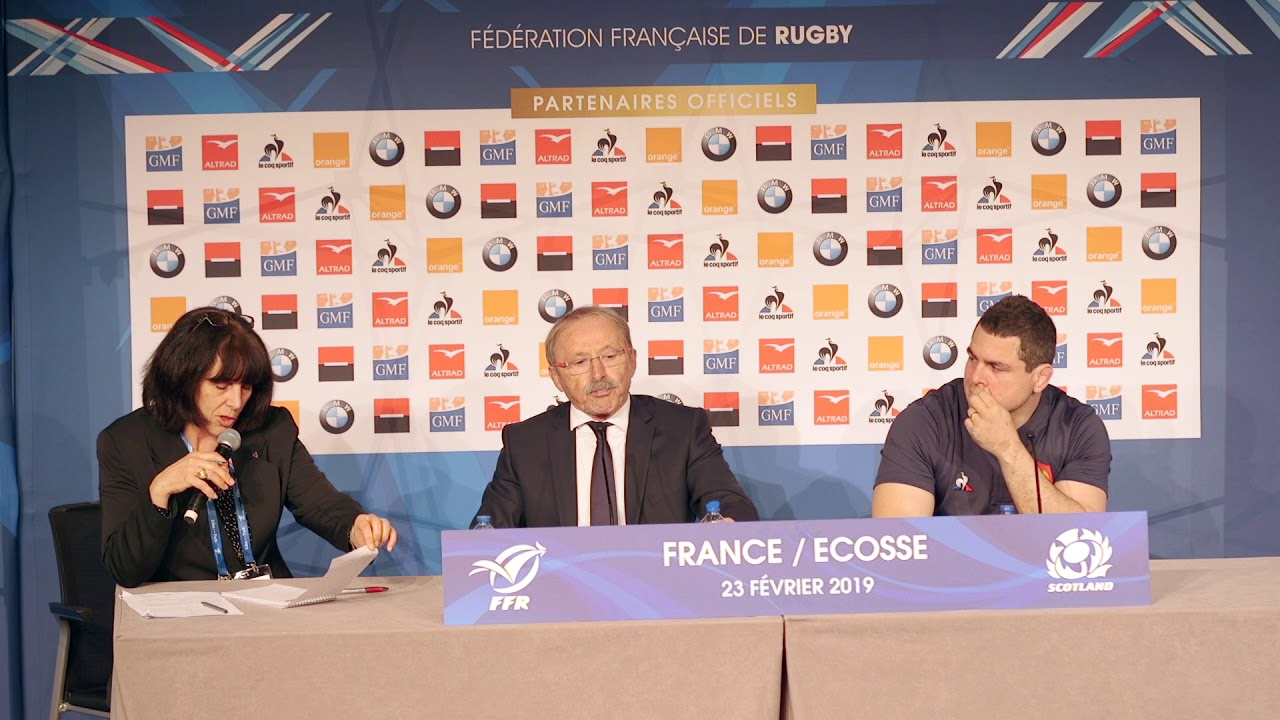 Press Conference: Jacques Brunel et Guilhem Guirado | Guinness Six Nations