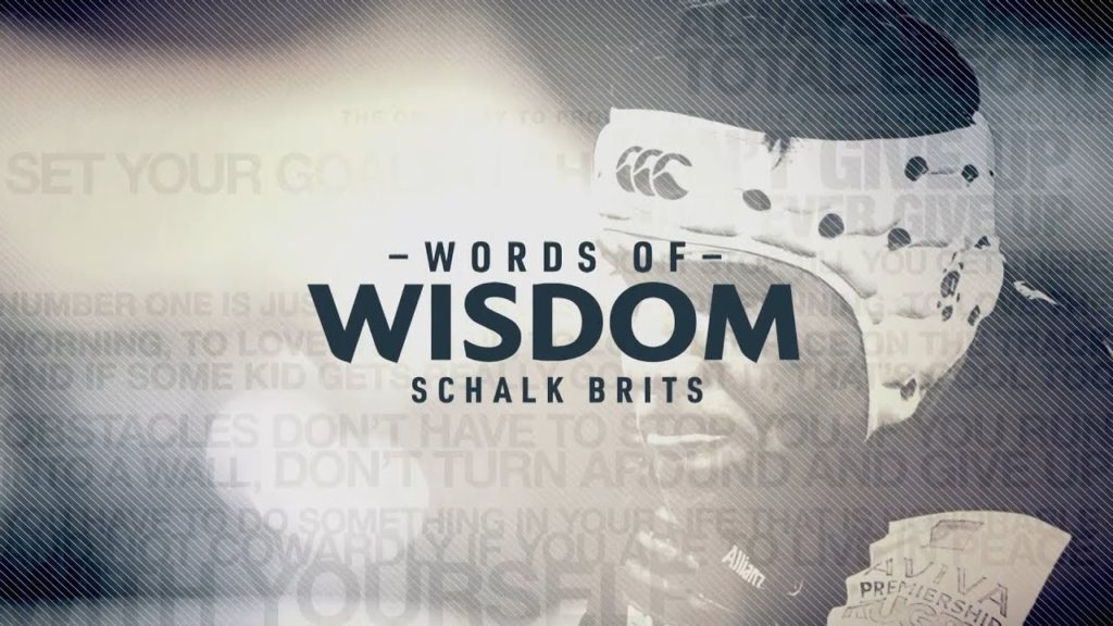 Schalk Brits | Words of wisdom