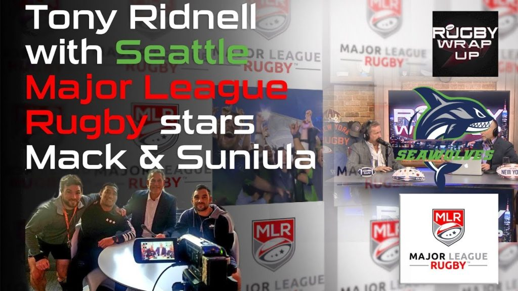 Seawolves Super Fan Tony Ridnell with Shalom Suniula & Phil Mack | RUGBY WRAP UP