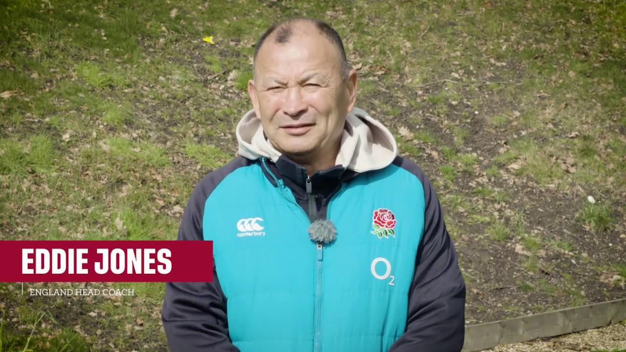 Eddie Jones on squad selection for Scotland