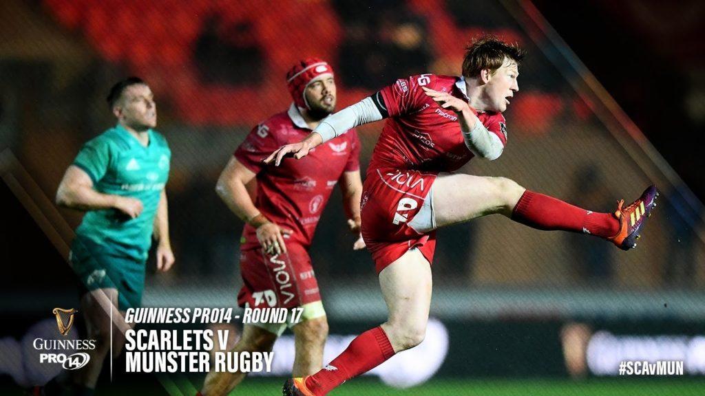 Guinness PRO14 Round 17 Highlights: Scarlets v Munster Rugby