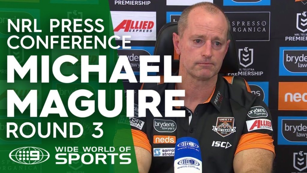 NRL Press Conference: Michael Maguire – Round 3 | NRL on Nine