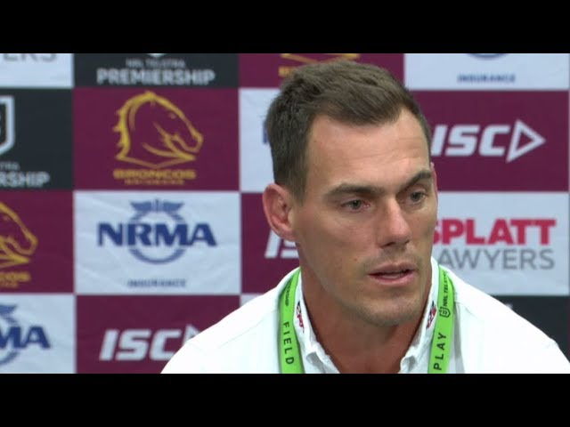 NRL Press Conference: John Morris – Round 7 | NRL on Nine
