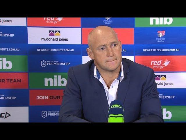 NRL Press Conference: Nathan Brown – Round 5 | NRL on Nine