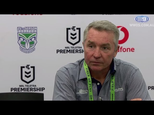 NRL Press Conference: Paul Green – Round 6 | NRL on Nine