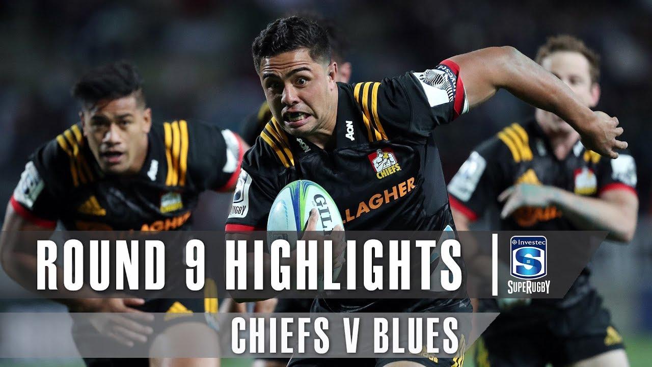 ROUND 9 HIGHLIGHTS: Chiefs v Blues – 2019