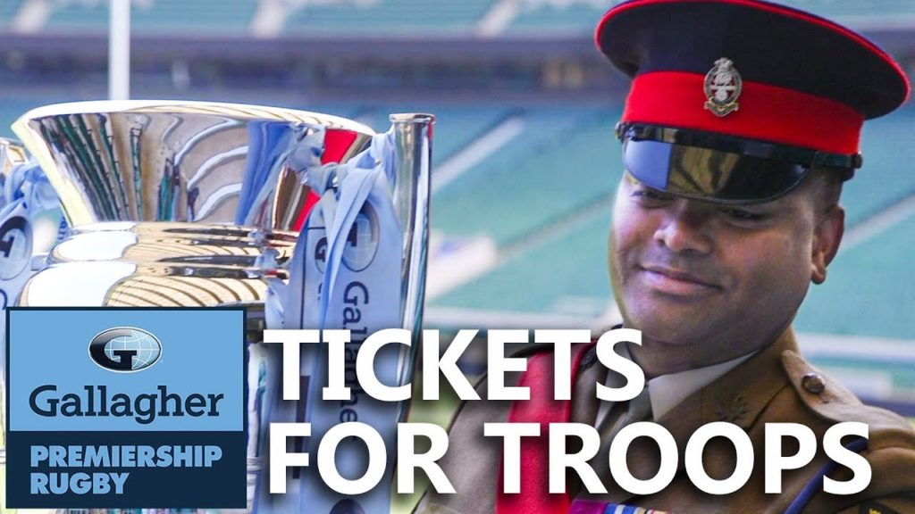 The Gallagher Premiership Final Will Welcome British Armed Forces And Families As Honoured Guests