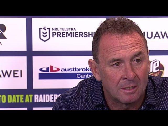 NRL Press Conference: Ricky Stuart - Round 8 | NRL on Nine