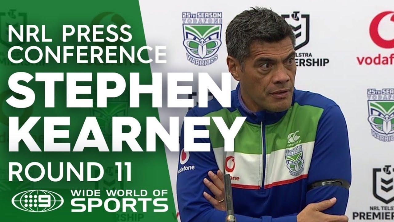 NRL Press Conference: Stephen Kearney - Round 11   NRL on Nine
