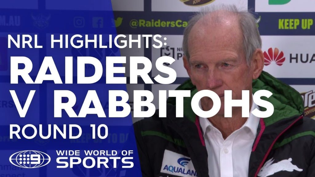 NRL Press Conference: Wayne Bennett – Round 10 | NRL on Nine
