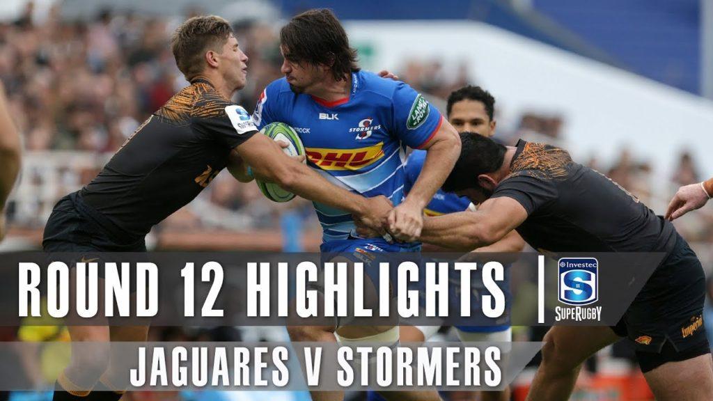 ROUND 12 HIGHLIGHTS: Jaguares v Stormers – 2019