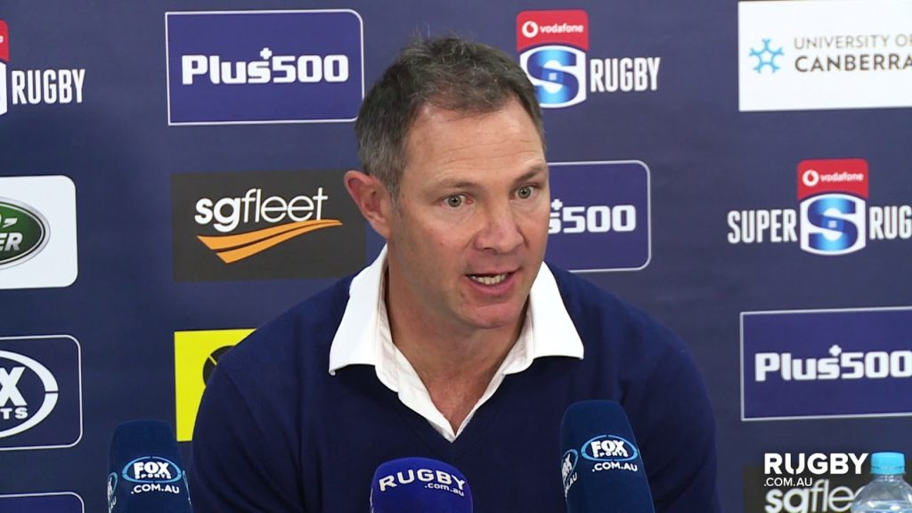 Super Rugby 2019  Round 12: Blues Press Conference