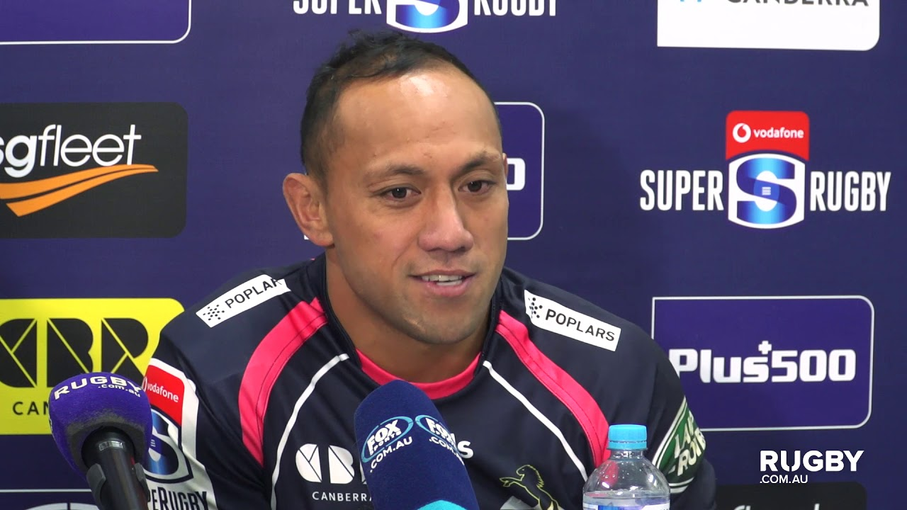 Super Rugby 2019 Round 13: Brumbies Press Conference