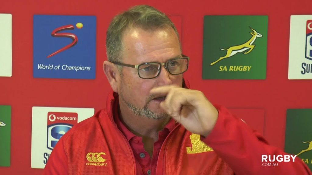 Super Rugby 2019 Round 13: Lions Press Conference