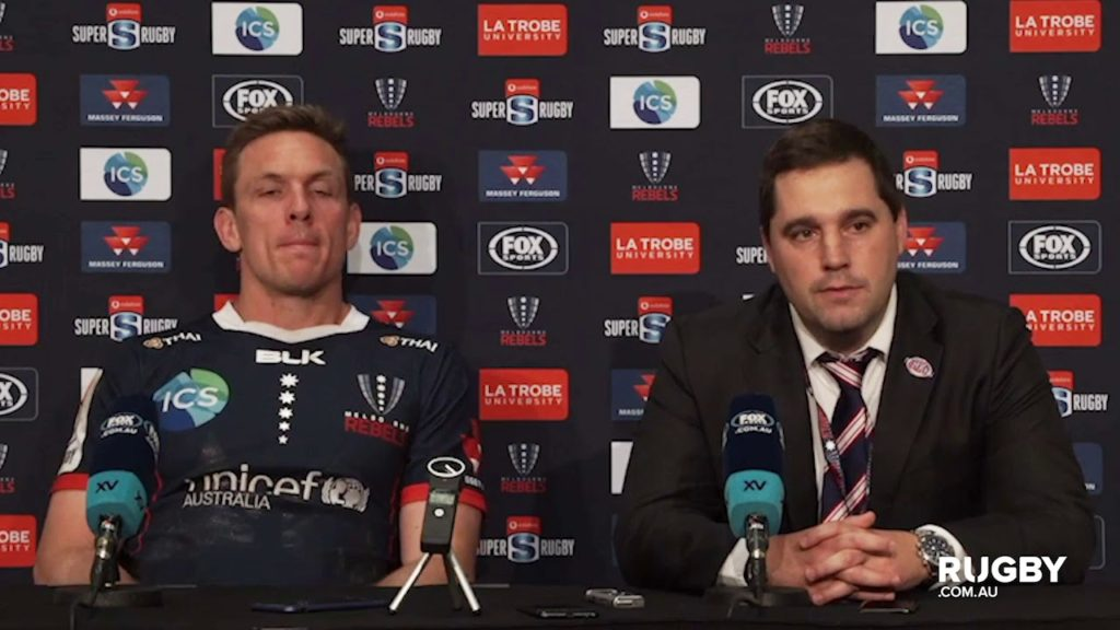 Super Rugby 2019 Round 14: Rebels press conference