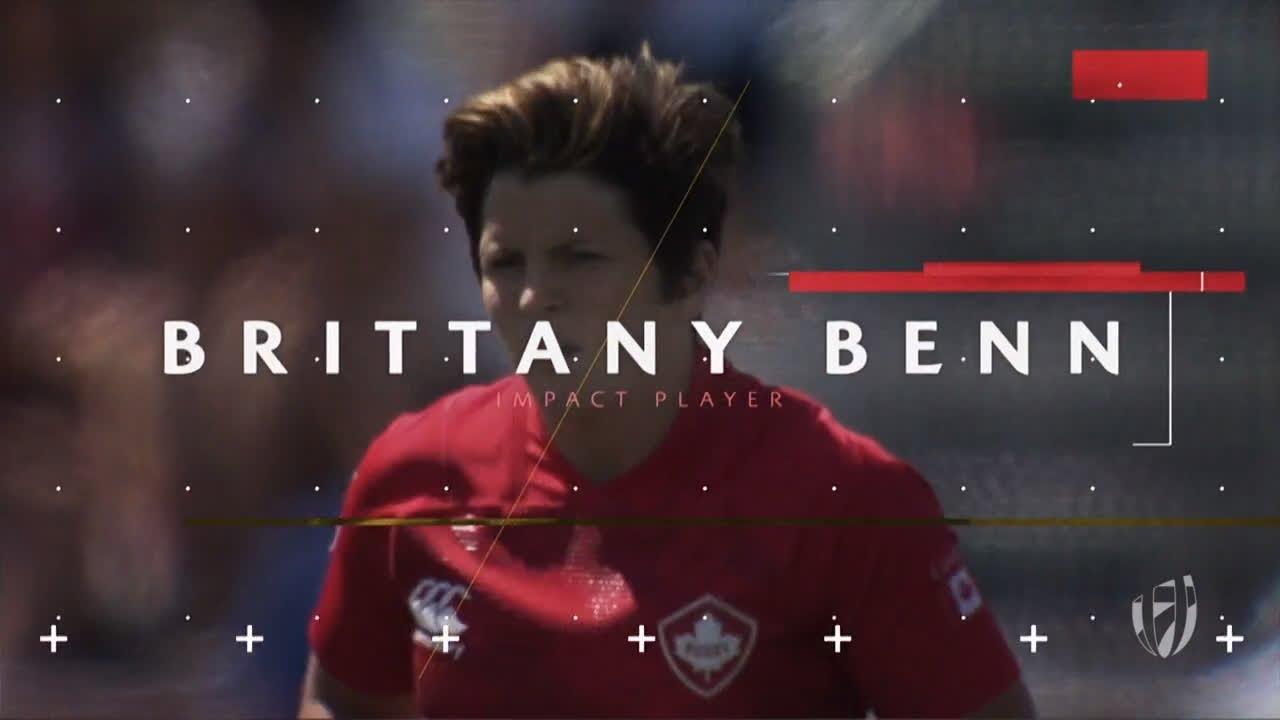 DHL Impact Player for Langford: Brittany Benn