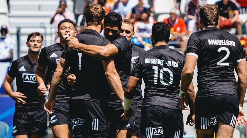 Injury-stricken All Blacks Sevens advance to Cup Quarterfinals