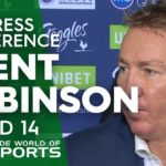 NRL Press Conference: Trent Robinson – Round 14 | NRL on Nine