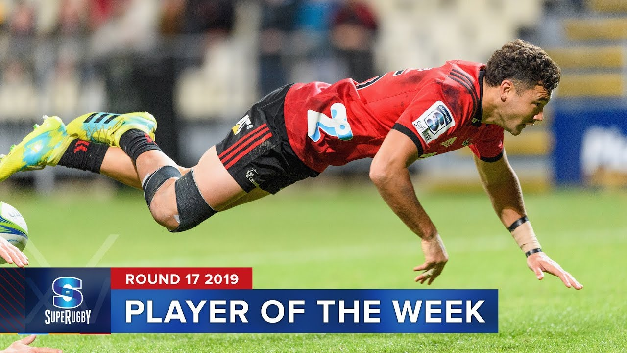 PLAYER OF THE WEEK | Super Rugby 2019 Rd 17