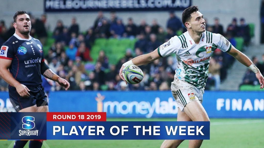 PLAYER OF THE WEEK | Super Rugby 2019 Rd 18