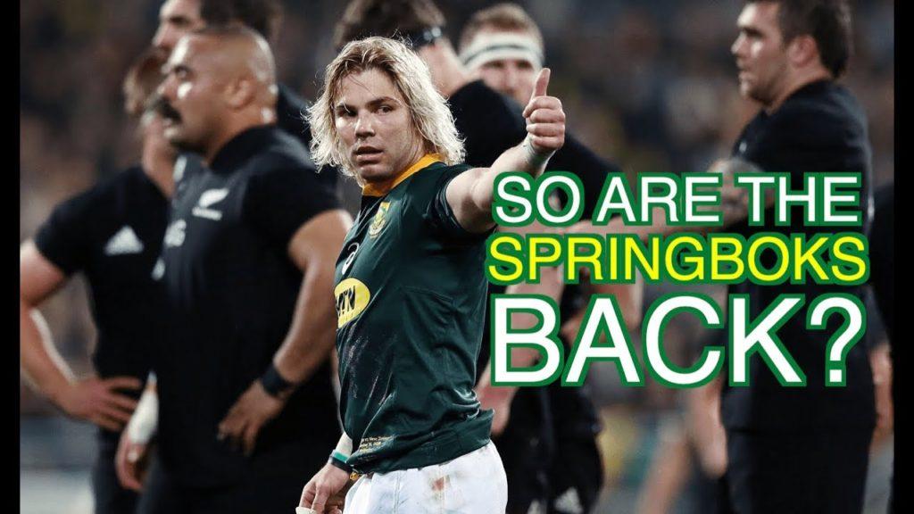 So are the Springboks back? | Squidge Rugby