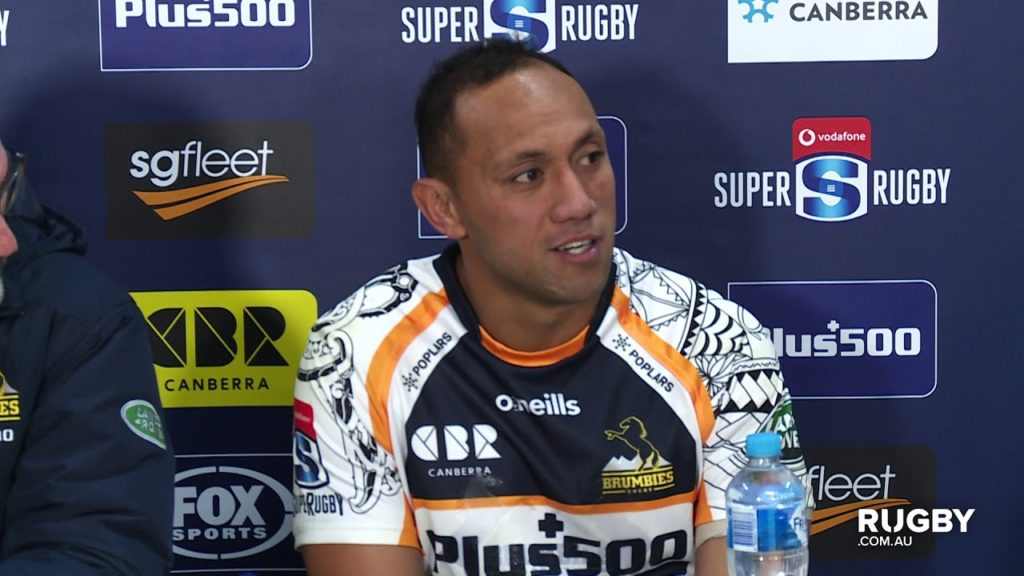 Super Rugby 2019 Round 18: Brumbies press conference