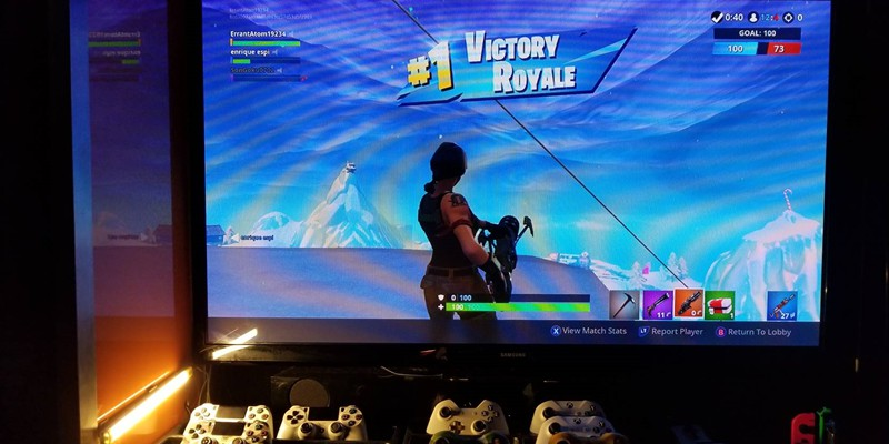 Fortnite is the ultimate survival game...