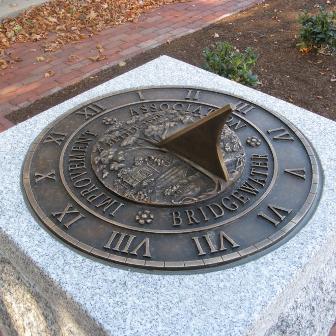 Bridgewater Improvement Association Sundial