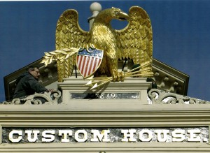 Custom House Eagle