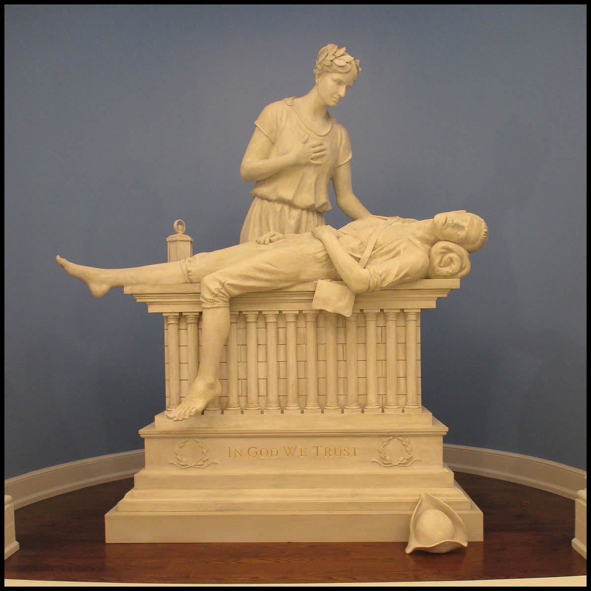 Liberty and the Fallen Sculpture