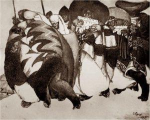 Carnaval de Otavalo, Camilo Egas, 1925